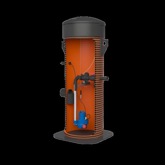 Pumpla KSB-AmaPorter500 plastluuk ID700