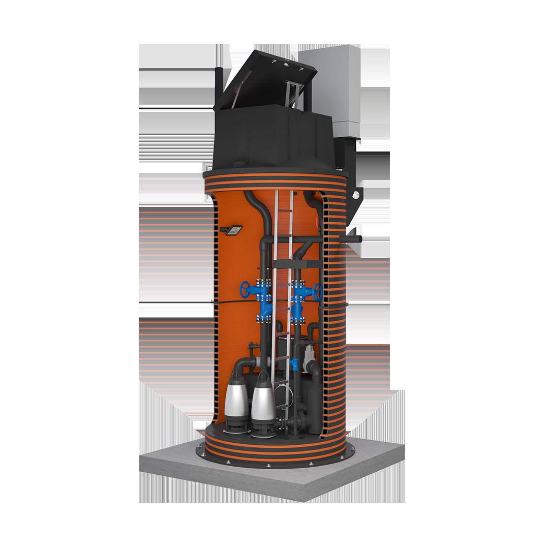 SSS-pumpla plastluuk ID1600